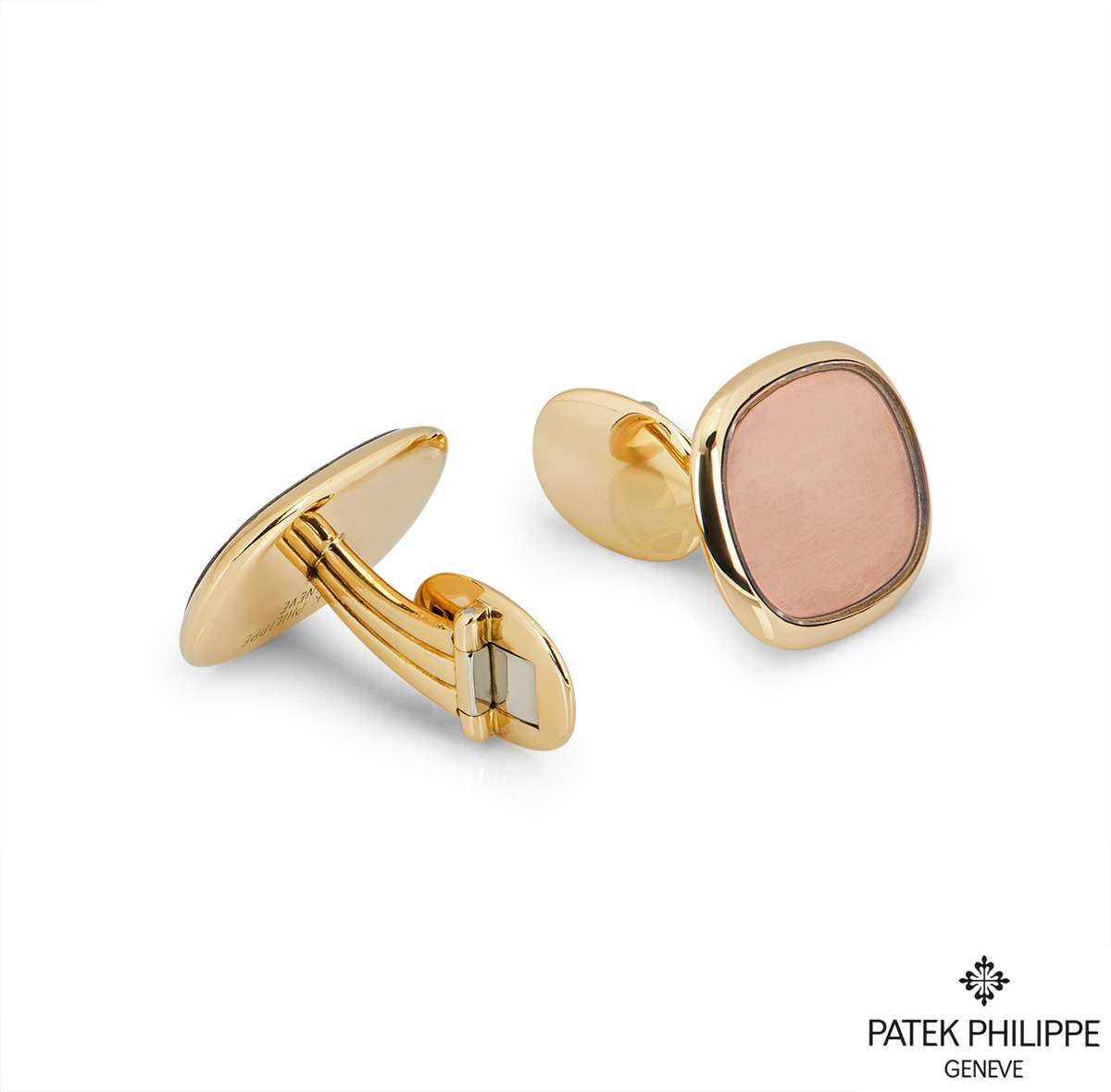 Patek Philippe Yellow Gold Ellipse Cufflinks